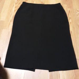 Vintage Tahari Polyester Midi Skirt